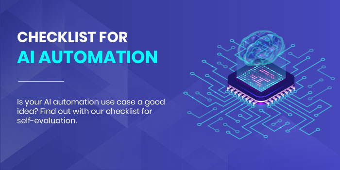 Checklist For AI Automation