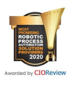 RAPs'achievement certificate in CIO Review magazine